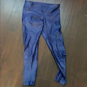 Koral shiny workout pants